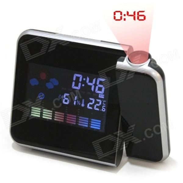 Multi-Function Alarm Clock w/ Temperature Humidity Display / Time ...