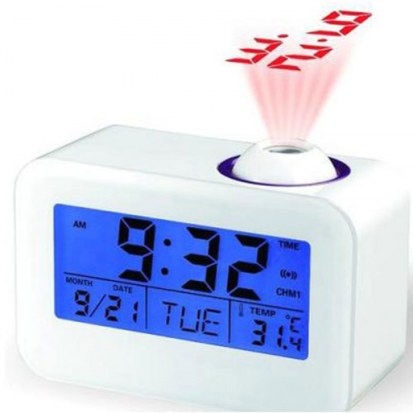 CB Multi-Function Digital Lcd Weather Temperature Talking Projection ...