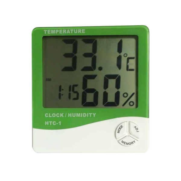 Digital-LCD-White-Thermometer-Hygrometer-Temperature-Humidity-Meter ...