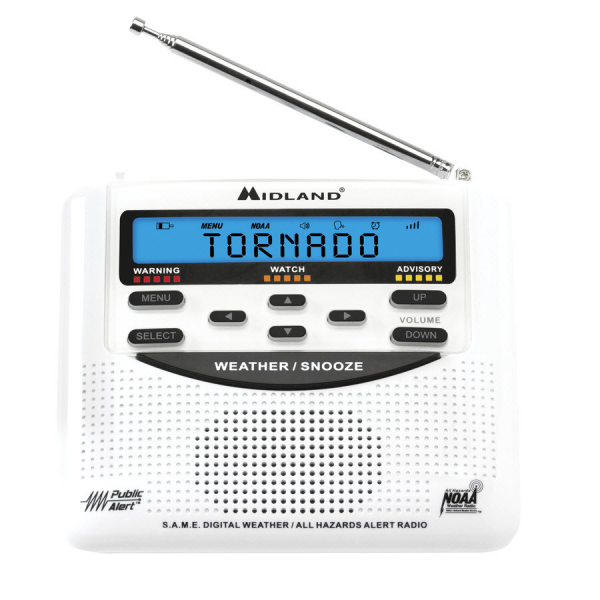 ... Midland Emergency Weather Alert Radio with Alarm Clock at Lowes.com