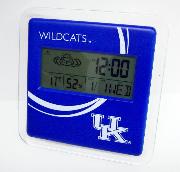 UK digital alarm clock & weather station - Lowry Sales, LLC suppliers ...