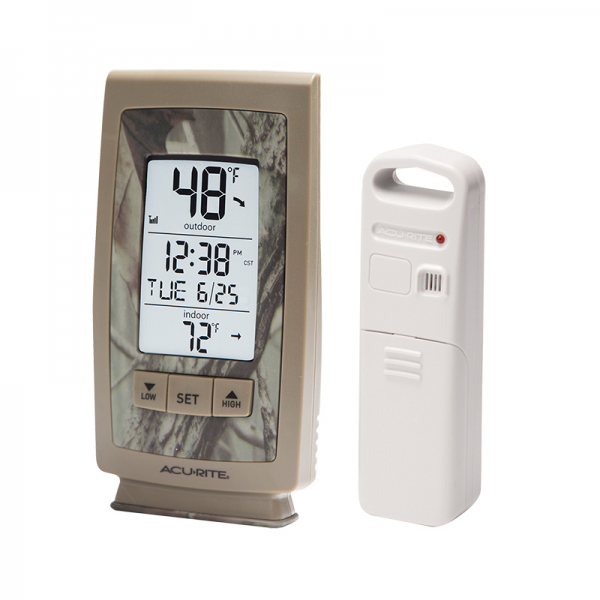 AcuRite Digital Indoor / Outdoor Thermometer with Intelli-Time Clock