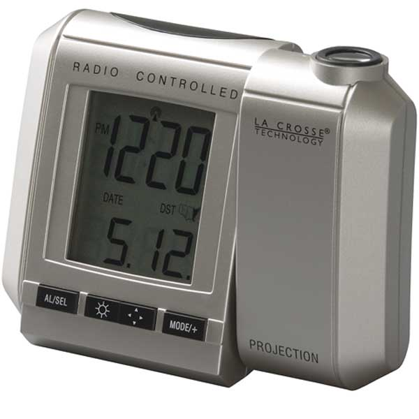... Crosse Technology Radio Controlled Projection Alarm Clock - Save 50%