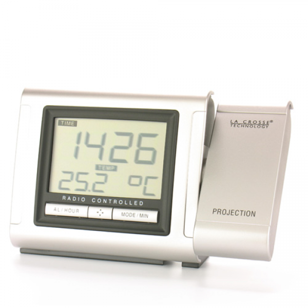 Projection clock silver WT5160-SIL
