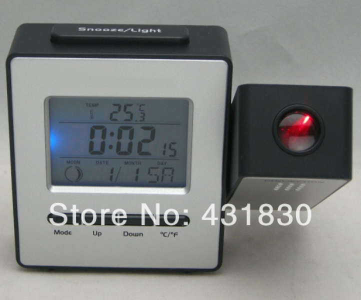 ... Projector / DCF Radio Controlled Clock-in Alarm Clocks from Home