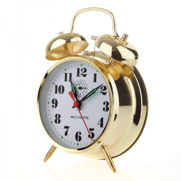 You're reviewing: Vintage Twin Bell Alarm Clock 15605