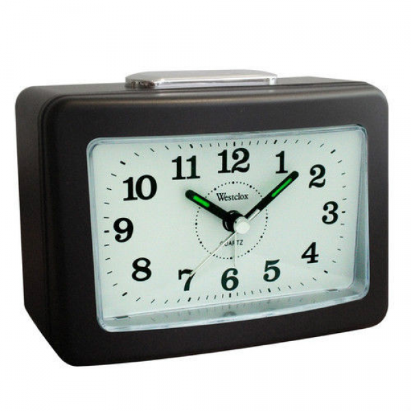 ... 47550 Battery Operated Quartz Loud Bell Analog Alarm Clock | eBay
