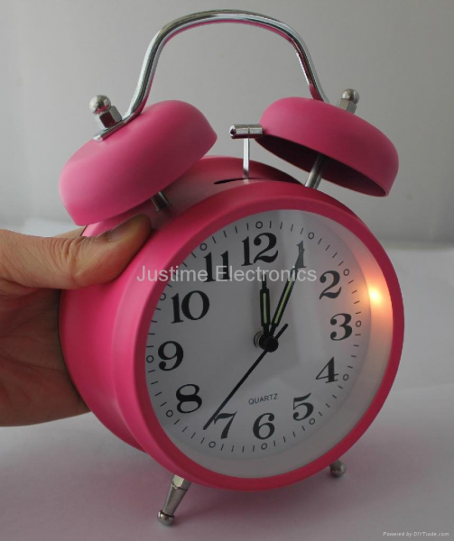 Twin bell Alarm clock - JT785 - Justime (China Manufacturer ...