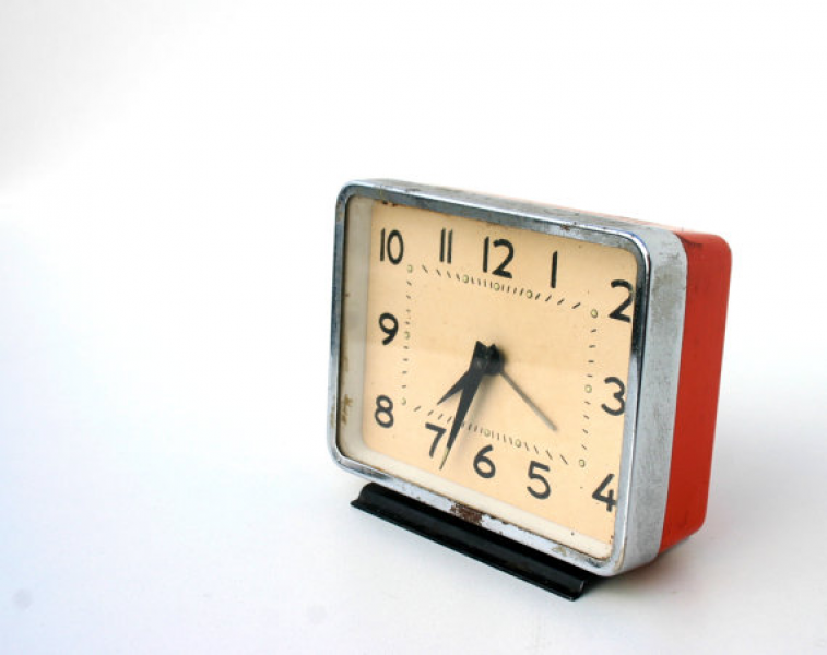Retro vintage alarm clock on SALE by BogaHome on Etsy