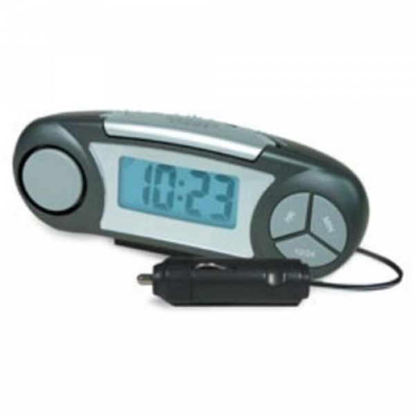 RoadPro RP-2090 12V Super Loud Alarm Clock - Walmart.com