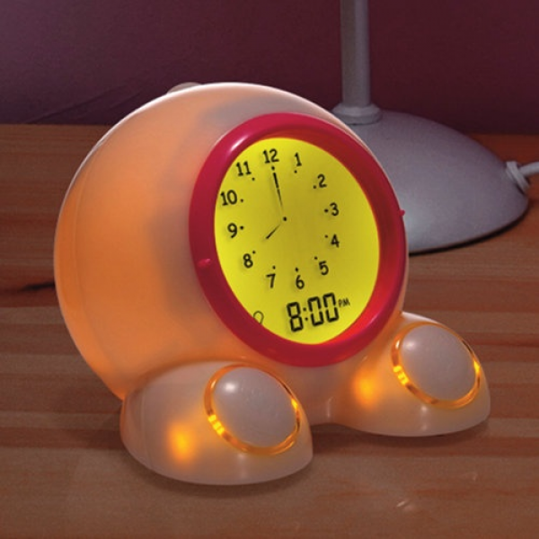 Teach Me Time! Talking Alarm Clock . My kids LOVE this clock! Changes ...