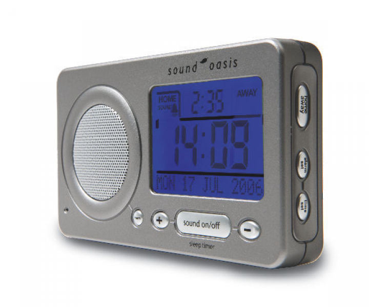 Sound Oasis S-850 Travel Sound Therapy & Travel Alarm Clock - Sound ...
