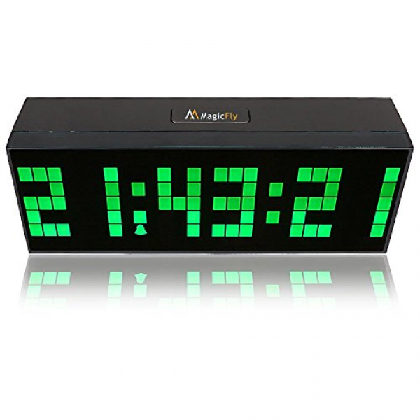 large numbers loud alarm clocks loud alarm clocks www top clocks com. Black Bedroom Furniture Sets. Home Design Ideas