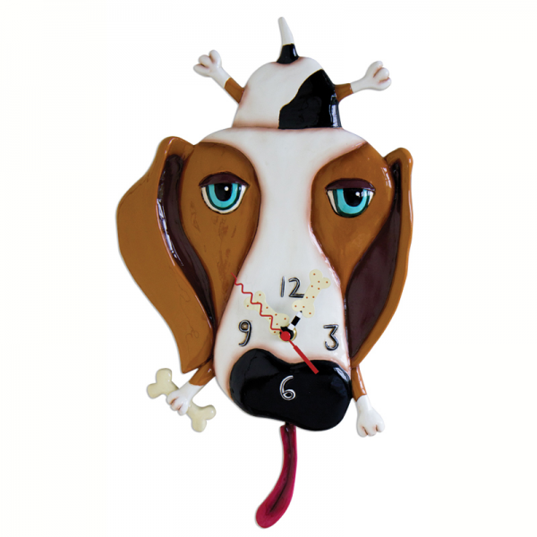 Buckley Dog Clock Michelle Allen Designs