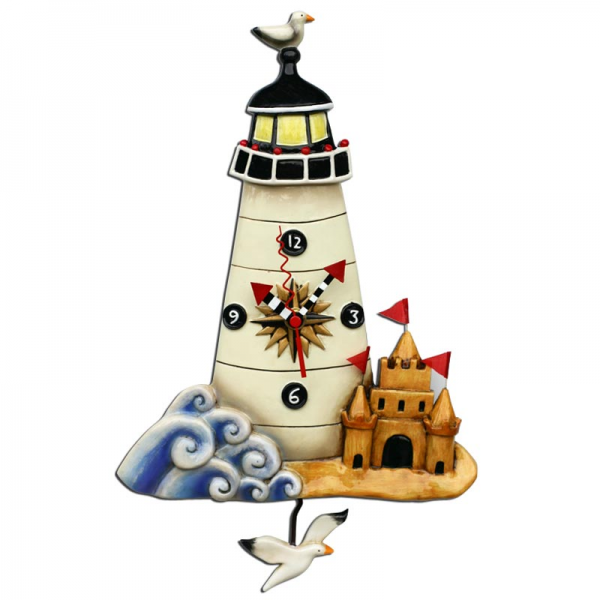 Lighthouse Clock Allen Studio Designs