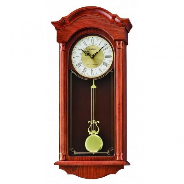 Seiko Clock 034 Gabrielle 034 Wooden Musical Pendulum Wall Clock ...