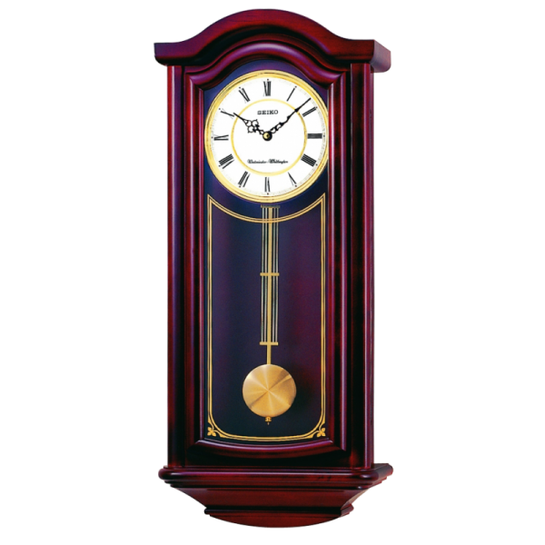 Preston Pendulum Wall Clock - QXH118BLH | Seiko Clocks