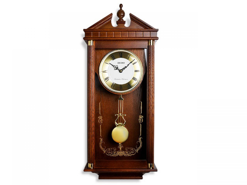 ... - Clocks - Wall Clocks - Seiko Chiming Pendulum Wall Clock - 037182