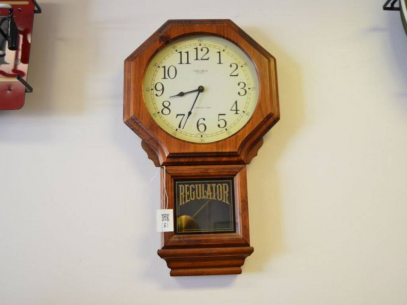 Verichron Quartz Westminster Chime Regulator Wall Clock