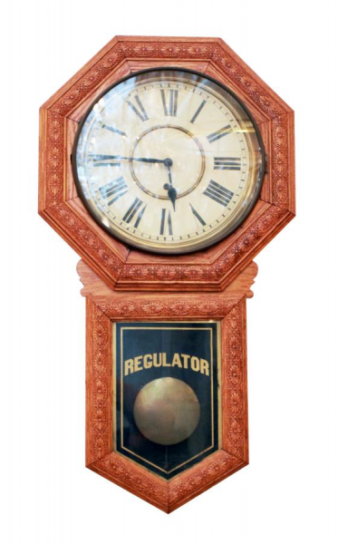 Regulator wall clock: Architectural Salvage Online Store, Buy Altered ...