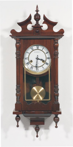 View Large Image of Kassel 31- Day Chiming Wall Clock