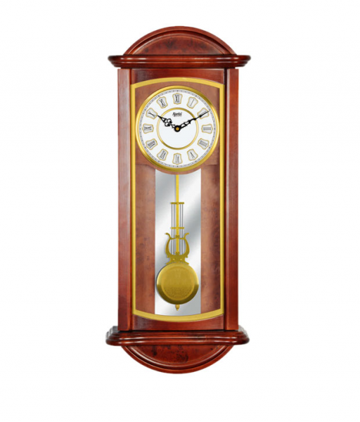 Buy Ajanta Brown Pendulum Wall Clock @ Best Prices | Snapdeal