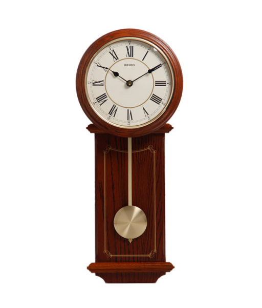 Seiko Brown Pendulum Wall Clock | BG : 3821673 | For Rs. 7253 ...