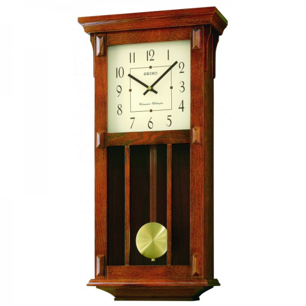 Mission Pendulum Wall Clock | Seiko Clocks