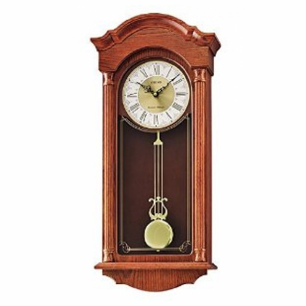 Seiko Seiko Clocks Gabrielle Chime with Pendulum Wall clock #QXH061BLH ...
