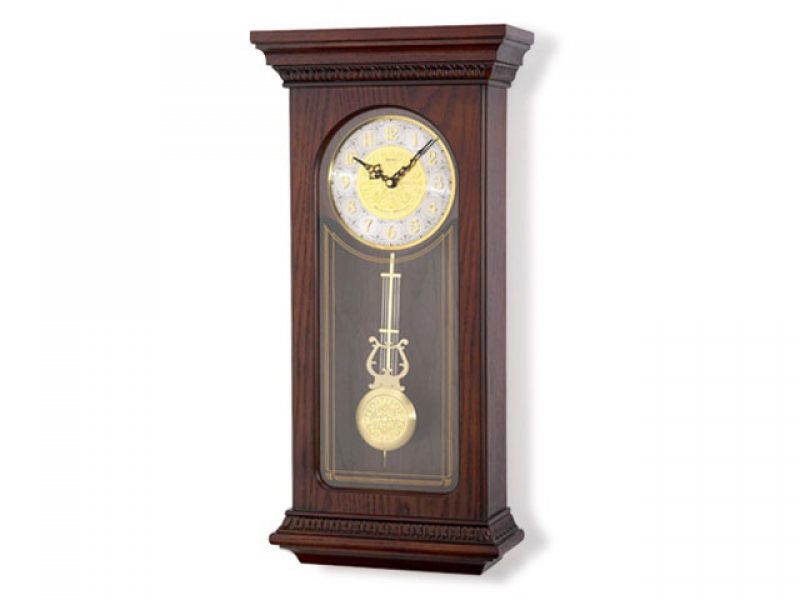 ... - Clocks - Wall Clocks - Seiko Pendulum Chiming Wall Clock - 037125