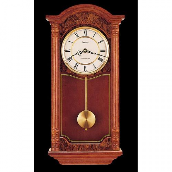 ... Wall Chime Clock Bulova Wall Clocks With Pendulum Clocks Hom