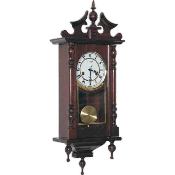Item # RHH694 : Kassel (TM) - 15-day wind-up movement wall clock, made ...