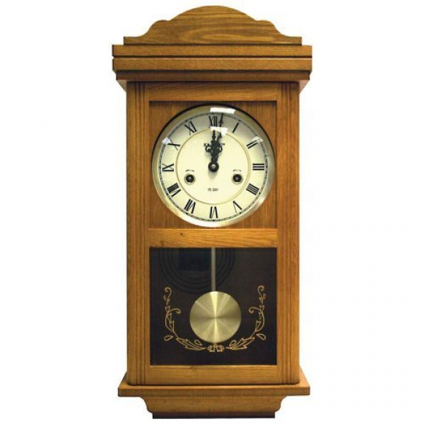 Beautiful Kassel 15 Day Wood Wall Pendulum Clock with