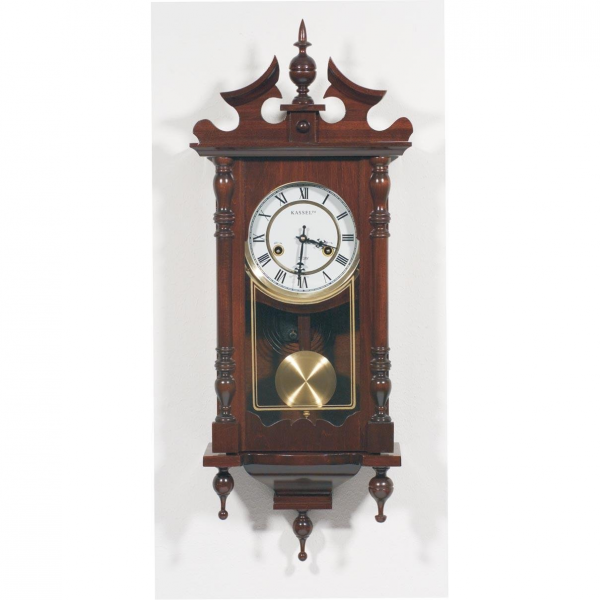 Kassel™ 15-Day Wood Wall Clock