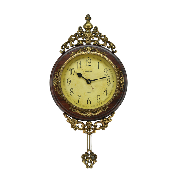 Antique Pendulum Wall Clock (24 x 15) - Overstock Shopping - Top Rated ...