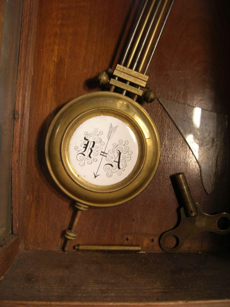 Antique Pendulum Wall Clock Antique ra pendulum wall