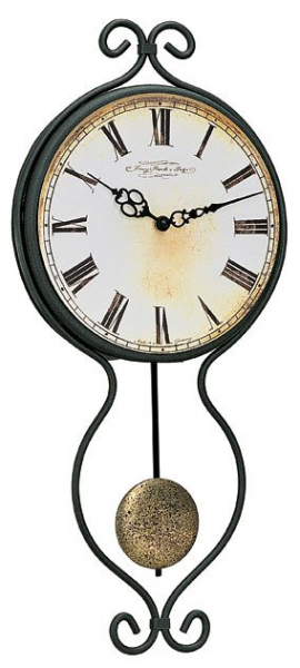 Classic Iron Pendulum Wall Clock from Theisen Clock & Novelty, a great ...