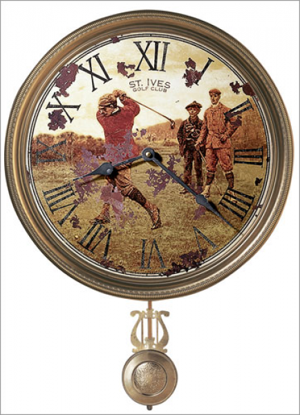 Howard Miller St. Ives Scottish Golf III Wall Clock