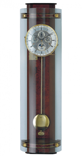 Regulator wall clock, 8 day running time from AMS AM R3633/1