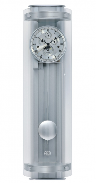 Regulator wall clock, 8 day running time from AMS AM R3633