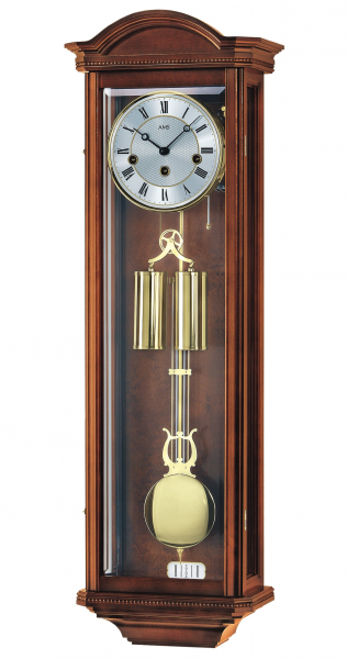 Regulator wall clock, 8 day running time from AMS AM R2672/1 - 8 day ...