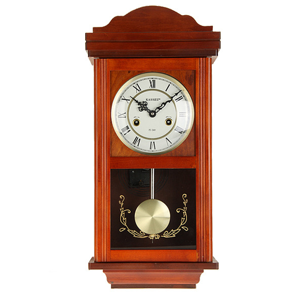 Kassel 15-Day Wood Wall Clock | AtAuction.com