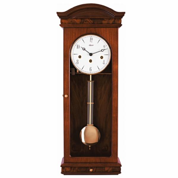 Hermle Marley Mechanical Regulator Wall Clock - Mahogany - Westminster ...