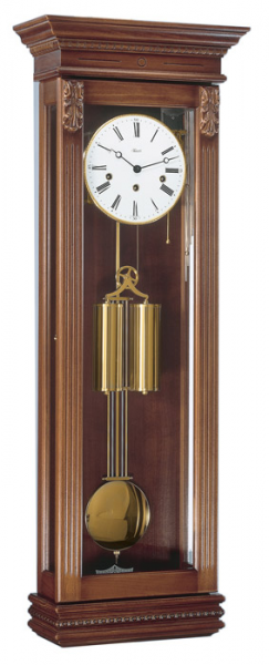 Wall Clocks: Hermle Staplehurst 70707-Q10351 Regulator Wall Clock ...