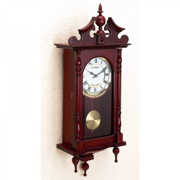 St. George German Pendulum Quartz Wall Clock