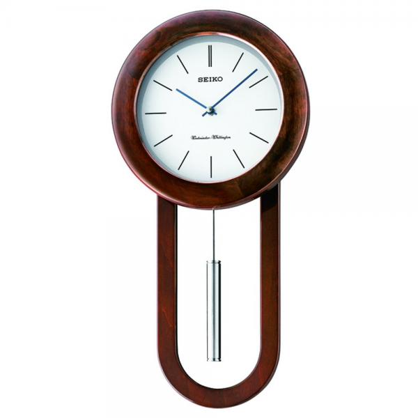 Pendulum Wall Clocks-wooden-pendulum-wall-clock-dual-chimes-quartz ...