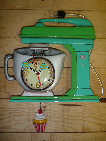 Allen Designs vintage mixer clock