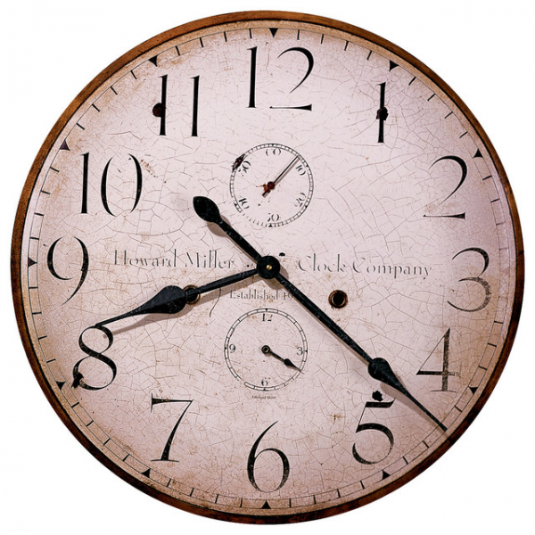 Howard Miller Moment in Time - 25 Gallery Wall Clock farmhouse-wall ...