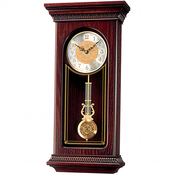Seiko Deluxe Large Pendulum Wall Clock - Westminster & Whittington ...