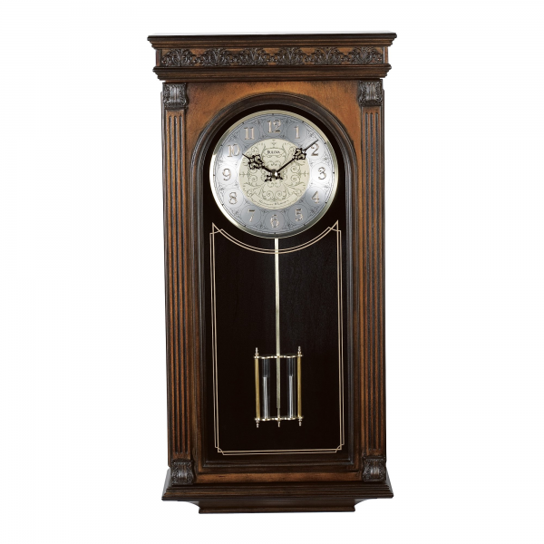 ... Laurien Wall Chime Clock - 11.5-in. Wide - Wall Clocks at Hayneedle